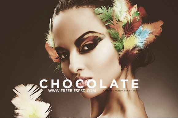 Chocolate Photoshop Action