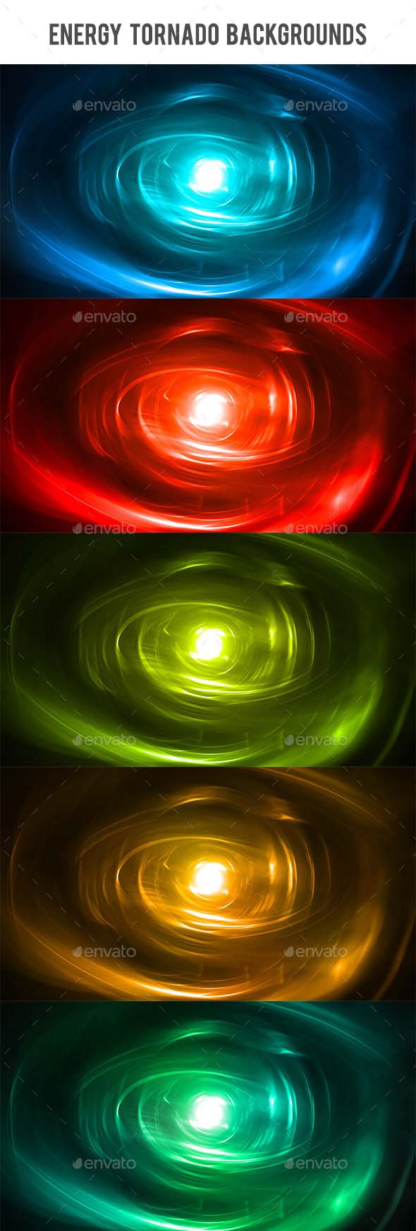 Energy Tornado Backgrounds