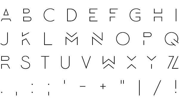 Lombok typeface 1