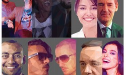 Amazing Lowpoly Portraits Illustrations for Inspiration