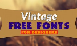 30 Best Vintage Free Fonts for Designers