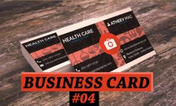 Free Clinic Business card PSD Tempaltes