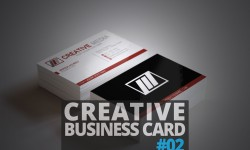 Freebies : Creative Business Card PSD Template