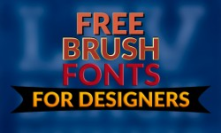 15 Best Free Brush Fonts for Designers