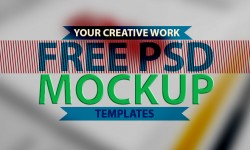 Free PSD Mockup Templates for your creative work