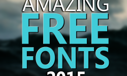 15+ Amazing Free Fonts Of 2015