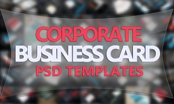 20 New Corporate Business Card PSD Templates