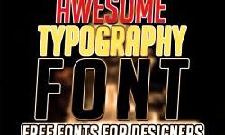 35 Best Awesome Typography Free Fonts for Designers