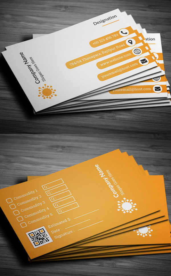 01 Corporate Business Card Design
