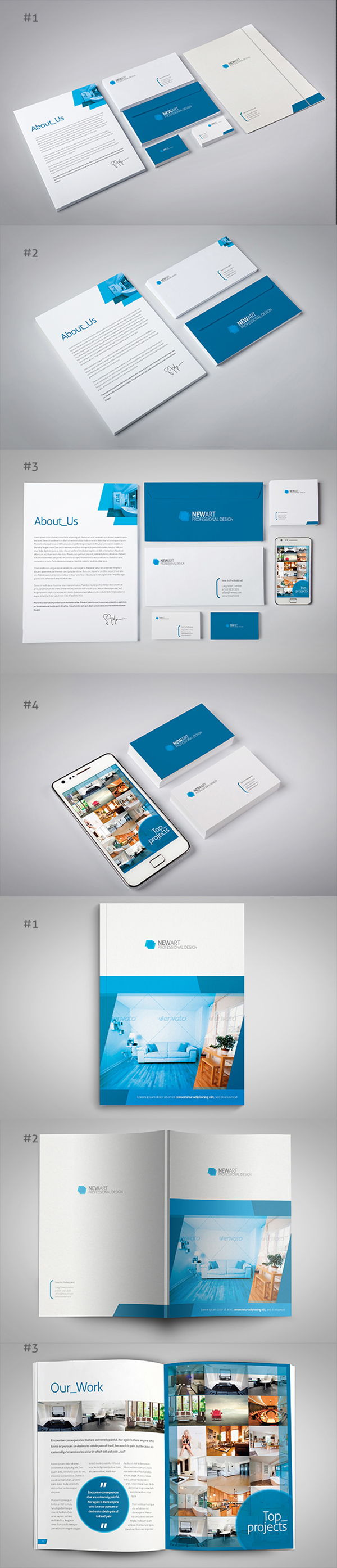 03 Branding : Identity Mockup