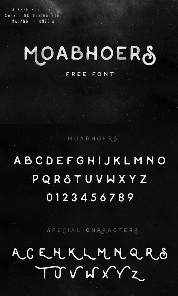 04 Moabhoers Free Font