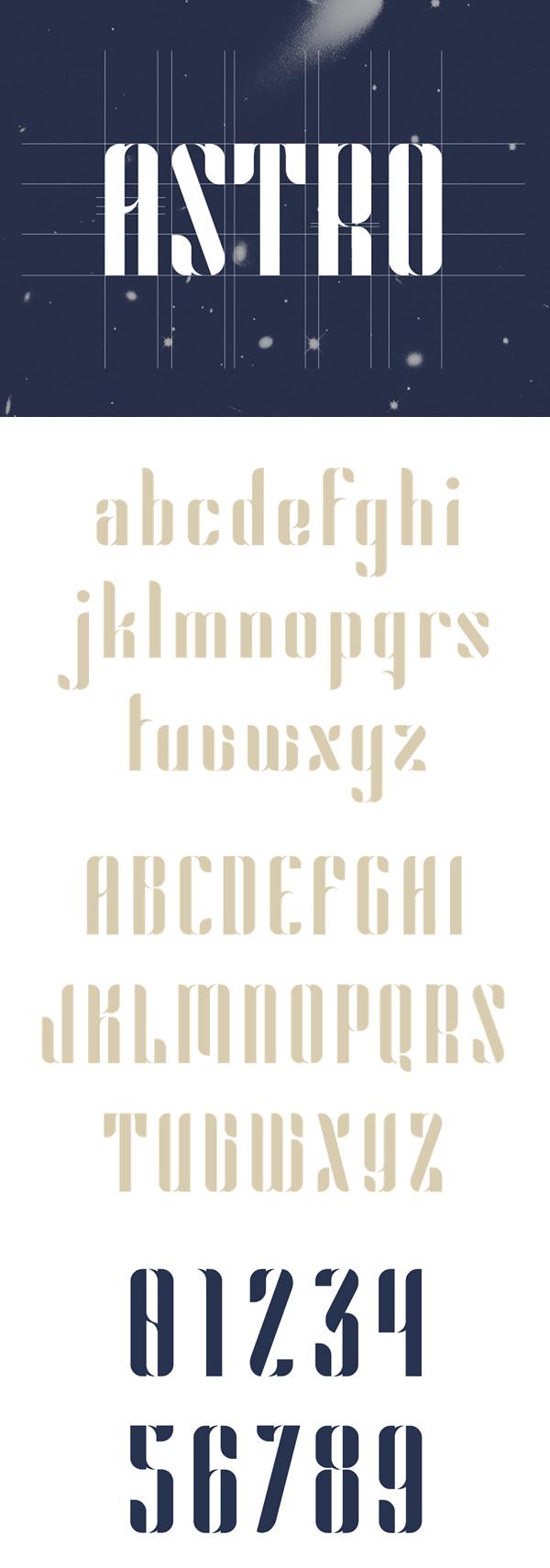05 Astro Free Font