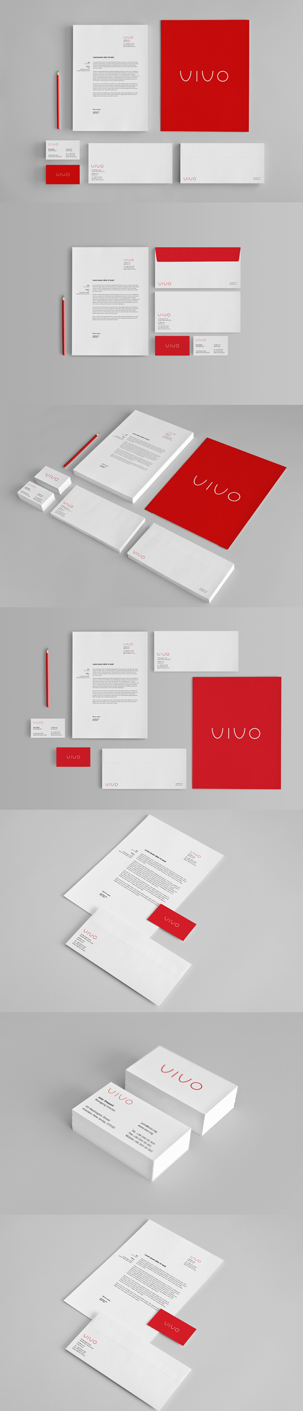 05 Branding : Stationery Mock-Up