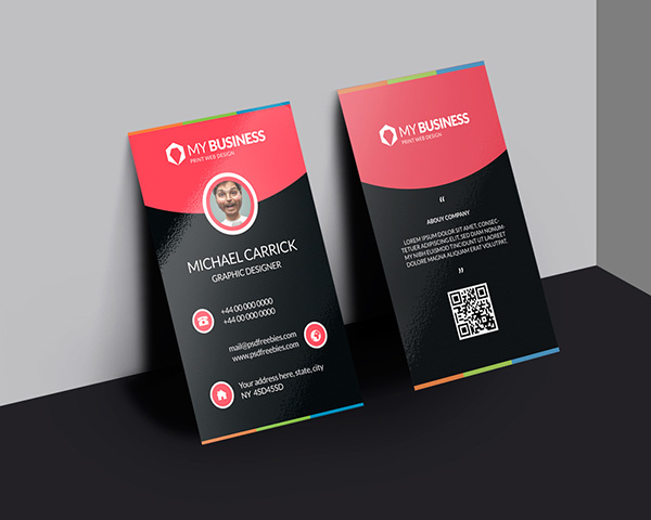 05 Modern Corporate Business Card Free PSD
