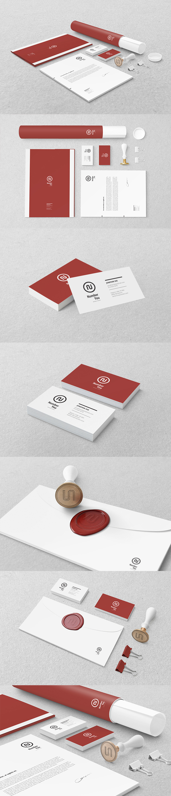 06 Branding : Identity Mock-up