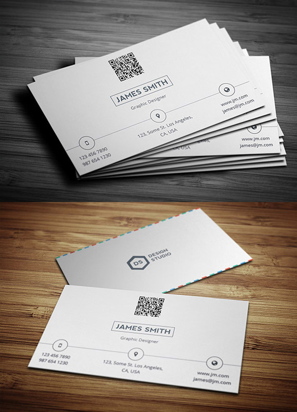 09 Creative & Minimal Business Card Template