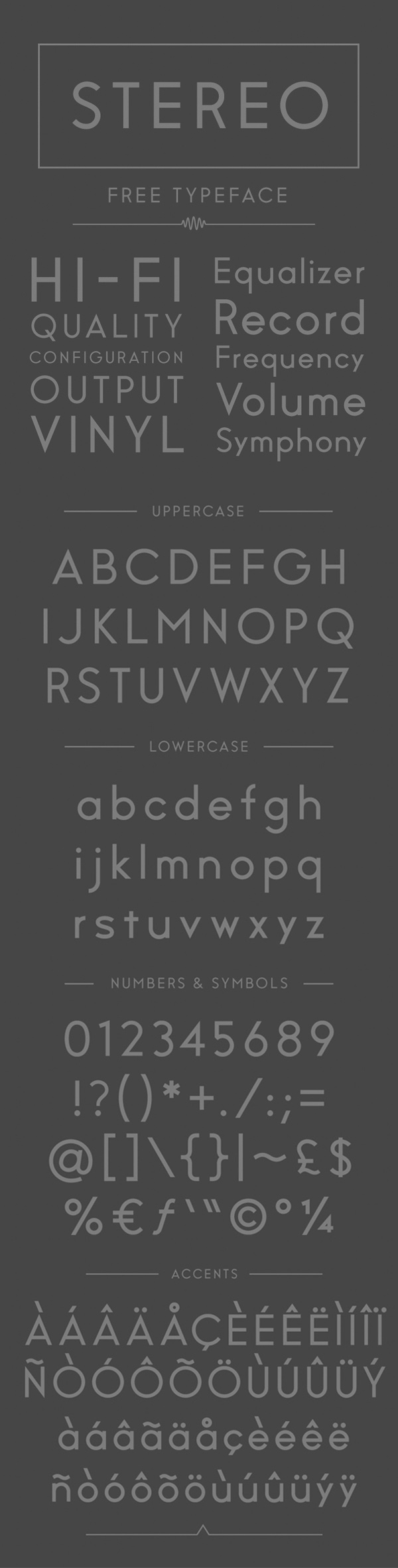 09 Stereo Free Font