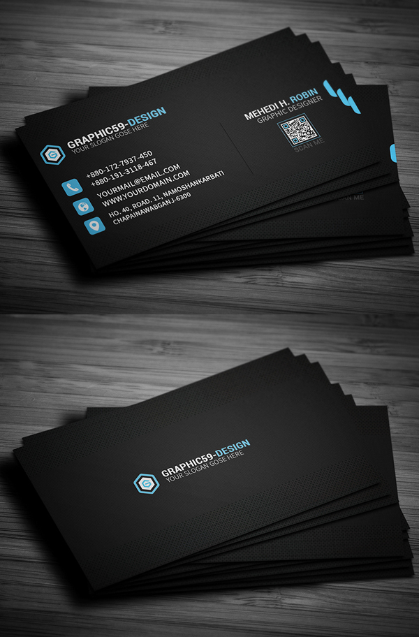 10 Pixel Business Card Design