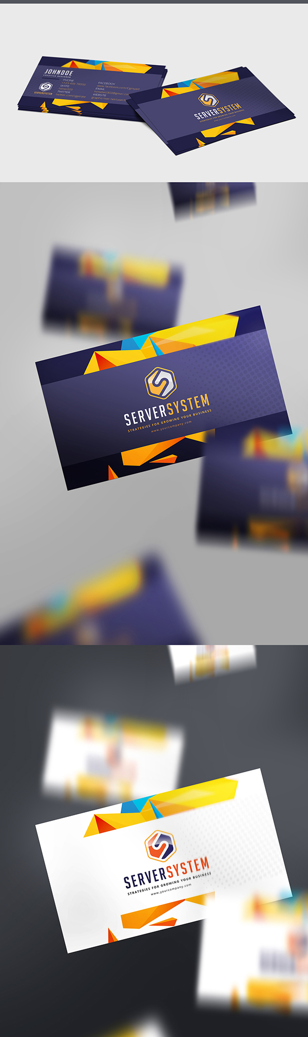 11 Free Busines Card Mockup