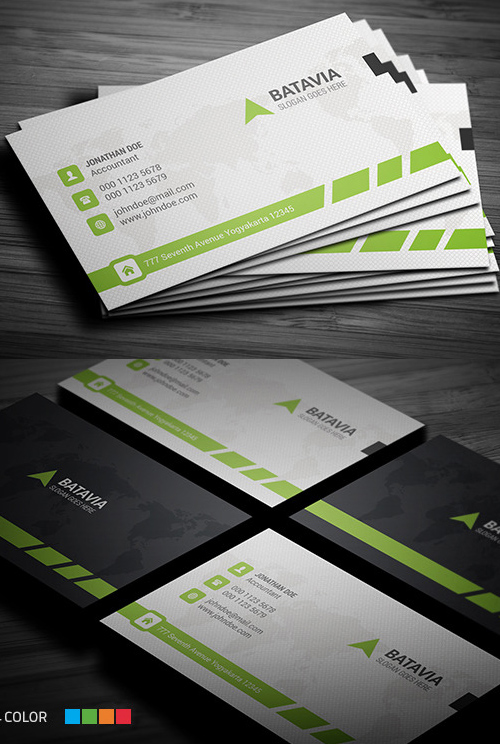 12 Professional Business Card