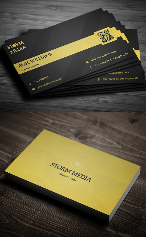 15 Minimal Corporate Business Card