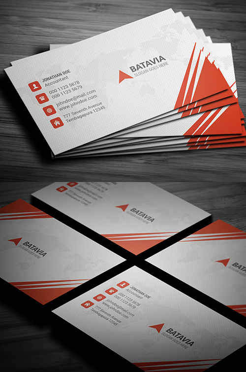 18 Splash Business Card