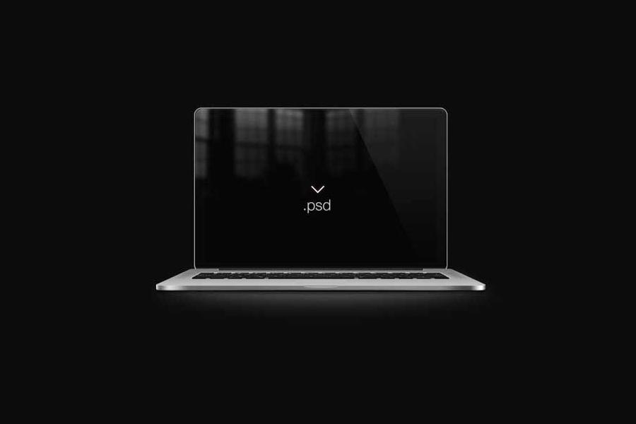 19 Retina MacBook Pro PSD