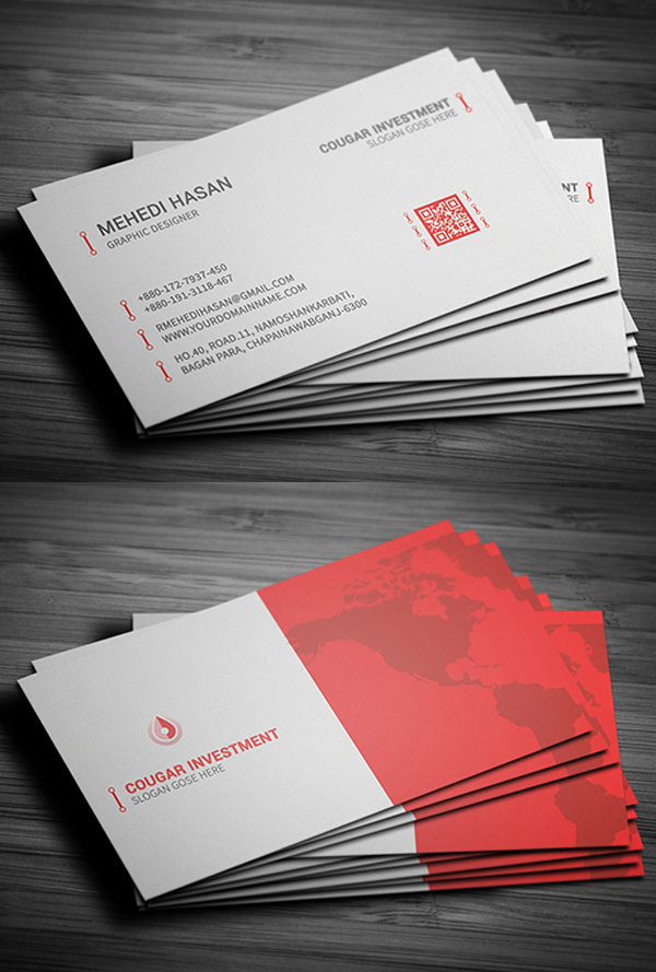24 Print Ready Business Card Design