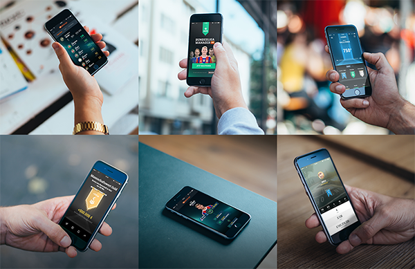 25 Free 6 Photorealistic iPhone 6 mockups