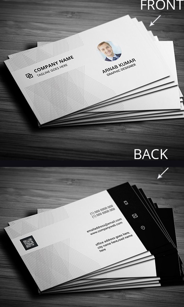28 Minimalist Style Business Card