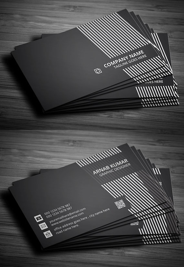 29 Black Creative Business Card
