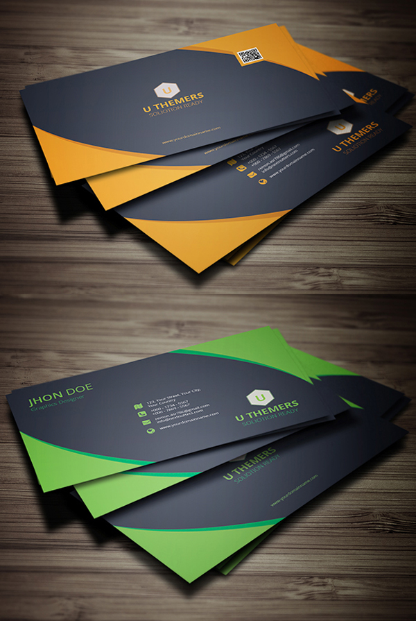 30 Professional Corporate Business Card