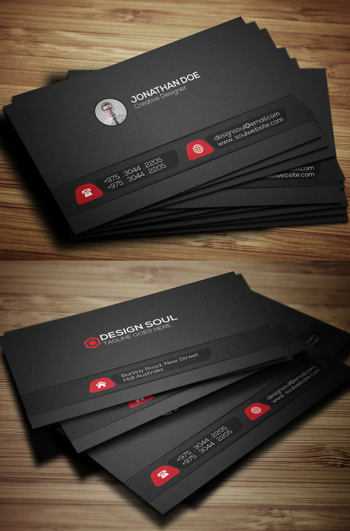 43 Corporate Business Card