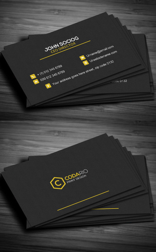 44 Construction Business Card