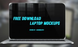 21 Free Photoshop PSD Laptop Mockups
