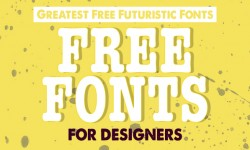 29 Greatest Free Futuristic Fonts for Designers