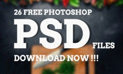 26 Best Free Photoshop PSD Templates