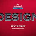 Design Vintage Text Effect