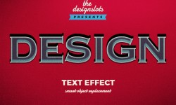 Design Vintage Text Effect Free Download