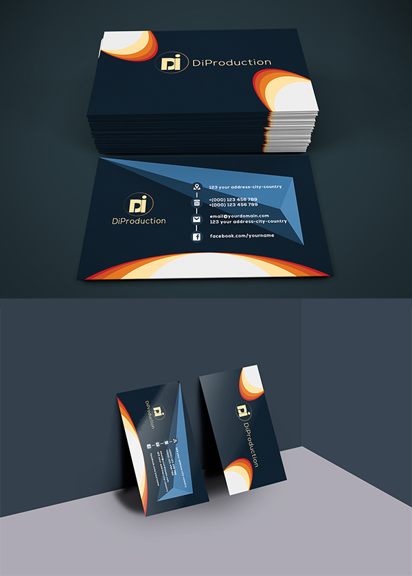 01 Free Di3 Business card