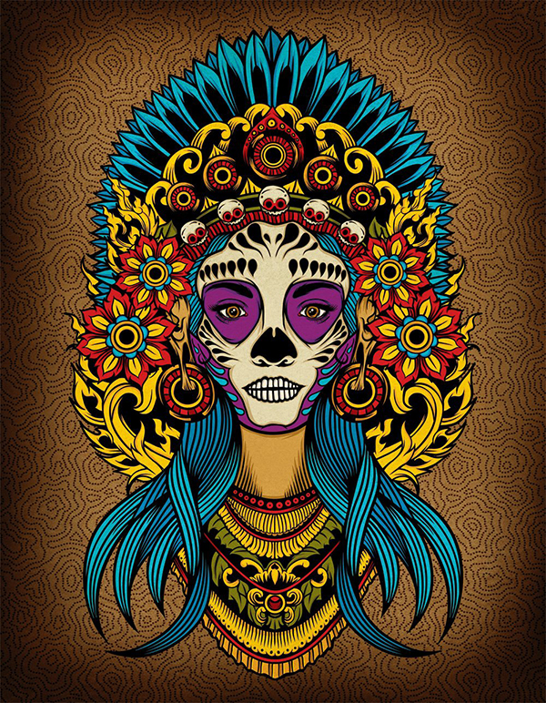 04 Death Goddess inspired
