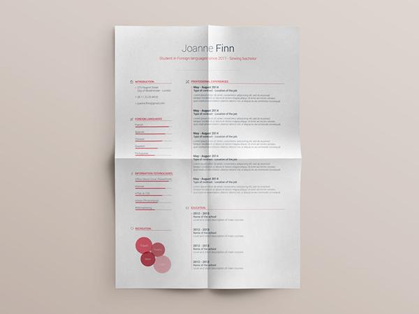 04 Free Resume template