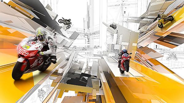 04 Racing Vertical Digital Art