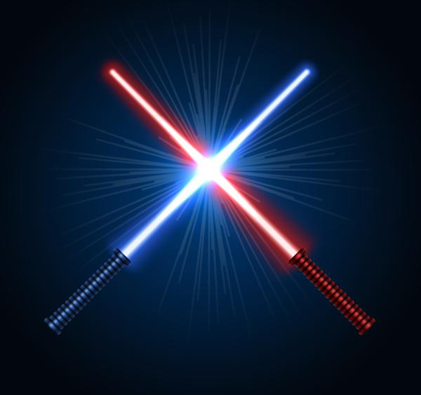 08 Create Lightsaber Vectors in Adobe Illustrator