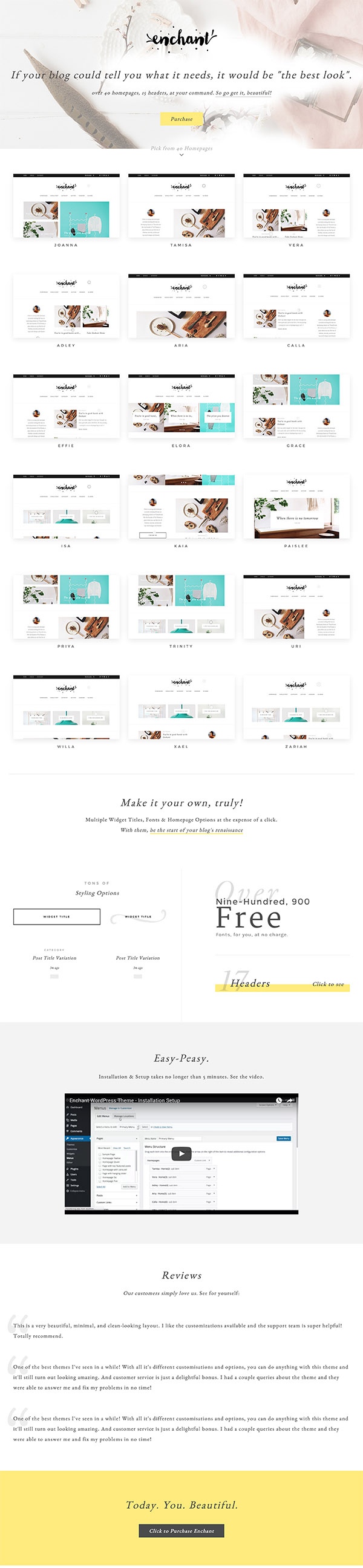 08 Enchant - Multi-Concept WordPress Blog Theme