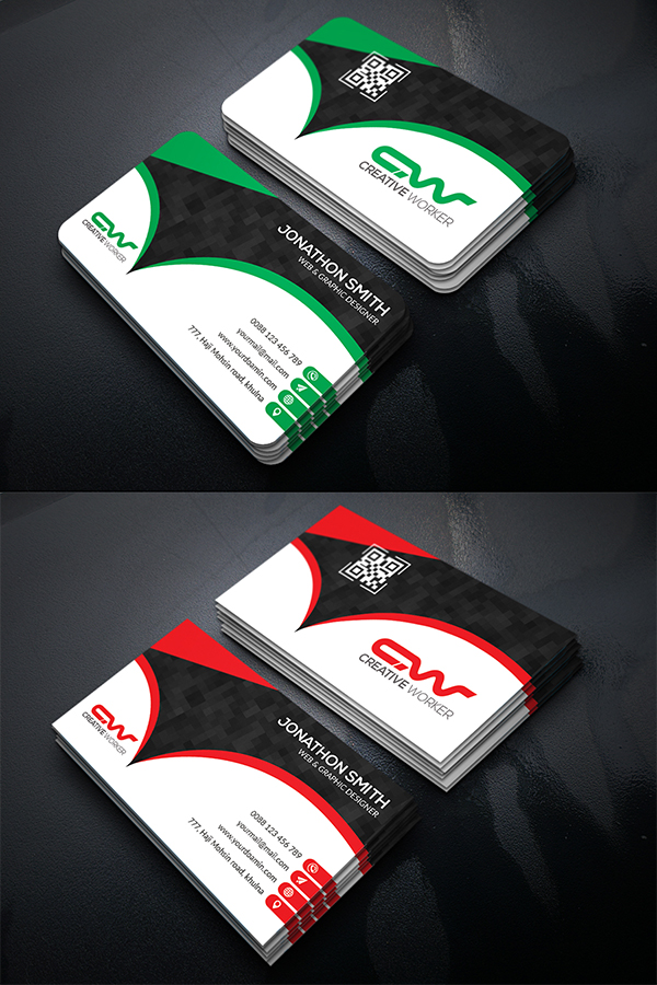 08 Free Corporate Business Card