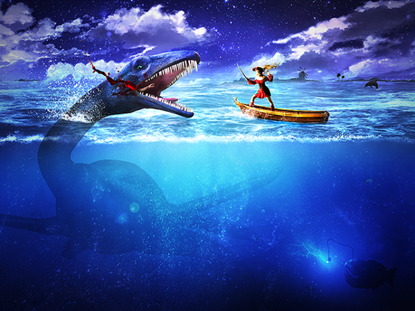 10 Create an Epic Pirate Sea Battle in Photoshop