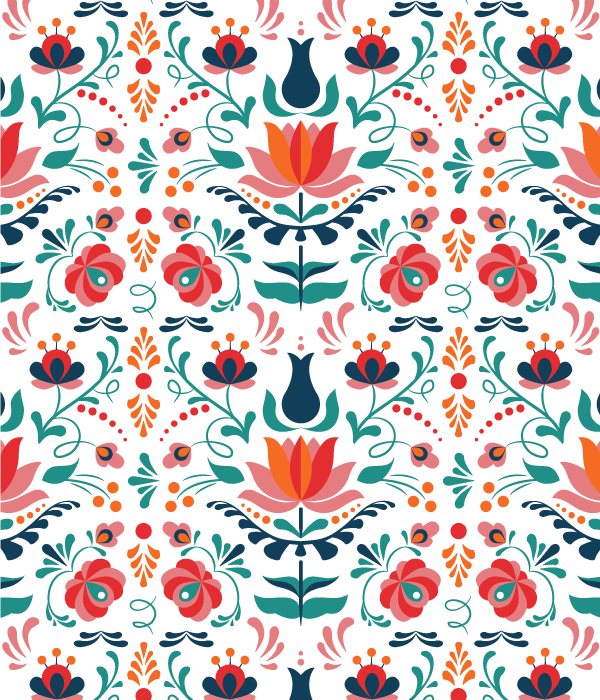 10 How to Design a Colorful Hungarian Folk Art Pattern in Adobe Illustrator