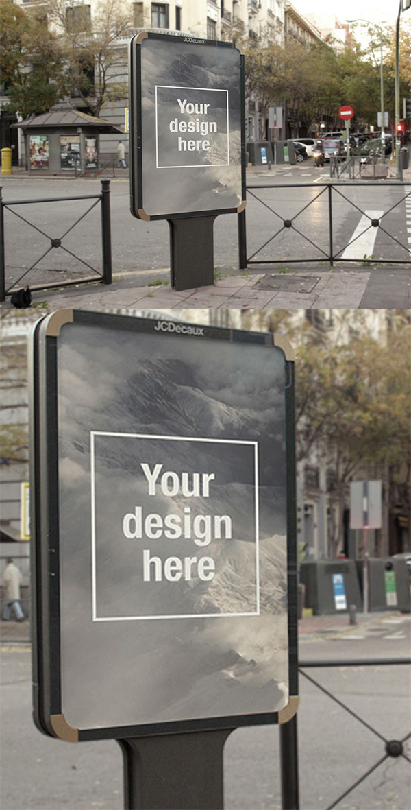 11 Outdoor Advertising Billboard Mockup