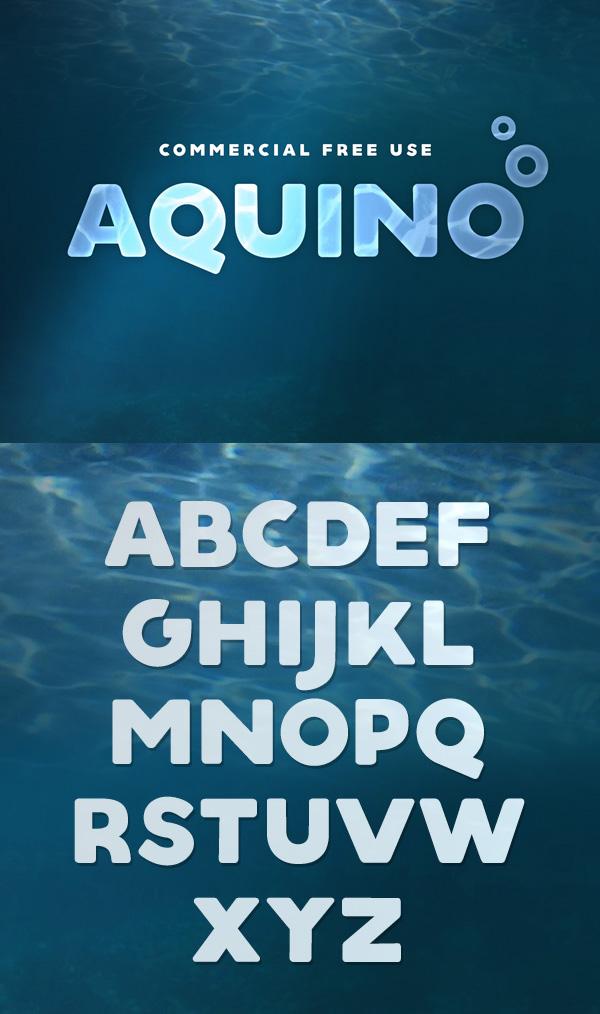 12 Aquino Free Font